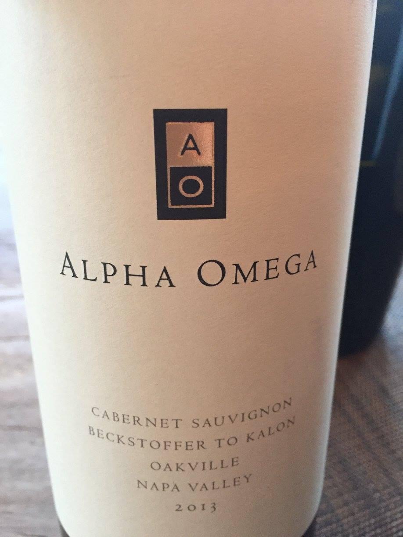 Alpha Omega – Cabernet Sauvignon Beckstoffer To Kalon 2013 – Oakville, Napa Valley