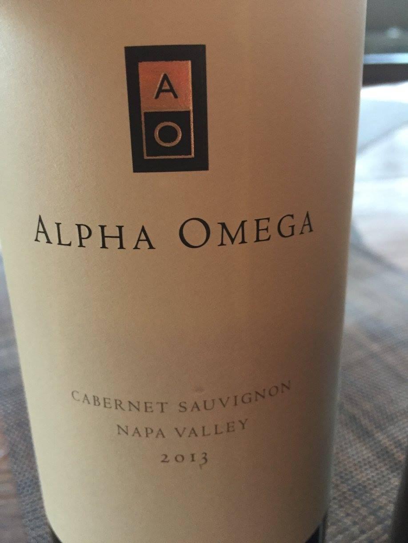Alpha Omega – Cabernet Sauvignon 2013 – Napa Valley
