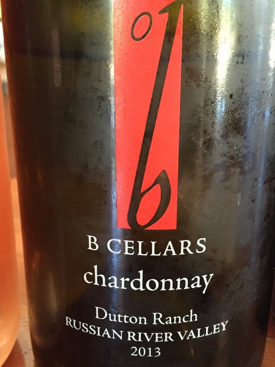 B Cellars – Chardonnay 2013 – Dutton Ranch – Sonoma – Russian River Valley