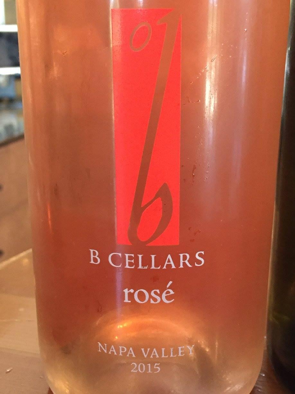 B Vineyards & Winery – Cabernet Sauvignon Rosé 2015 – Napa Valley