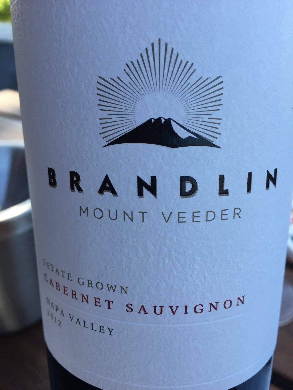 Brandlin – Mount Veeder Cabernet Sauvignon 2012 – Estate Grown – Napa Valley