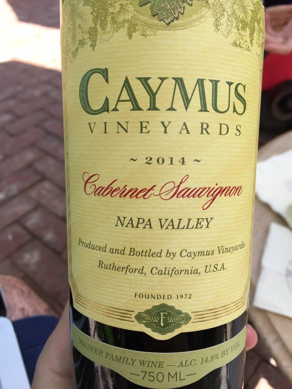 Caymus Vineyards – Cabernet Sauvignon 2014 – Napa Valley