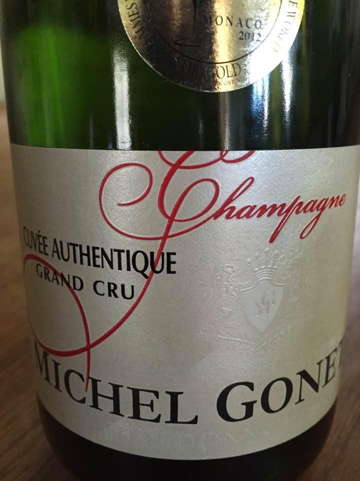 Champagne Michel Gonet – Cuvée Authentique Fût de Chêne 2005 – Grand Cru – Brut