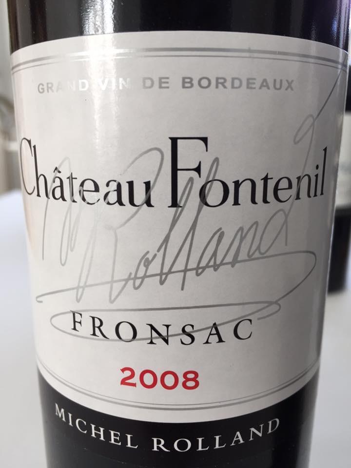 Château Fontenil 2008 – Fronsac