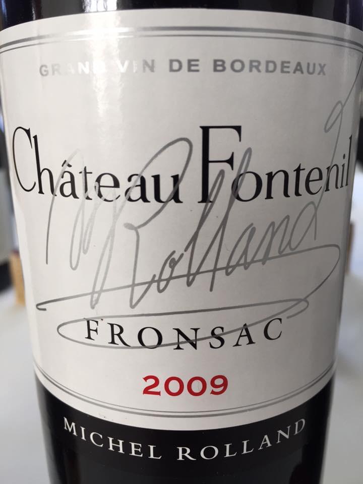 Château Fontenil 2009 – Fronsac