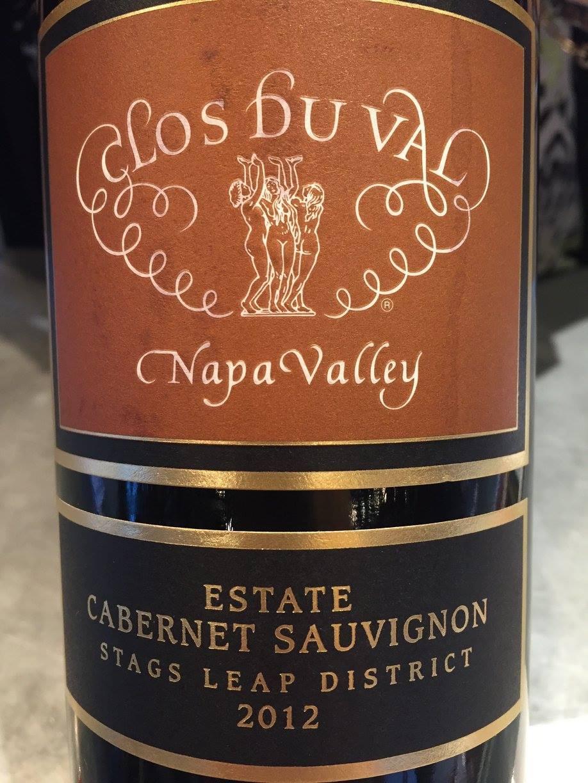 Clos du Val – Estate Cabernet Sauvignon 2012 – Stag Leaps District – Napa Valley