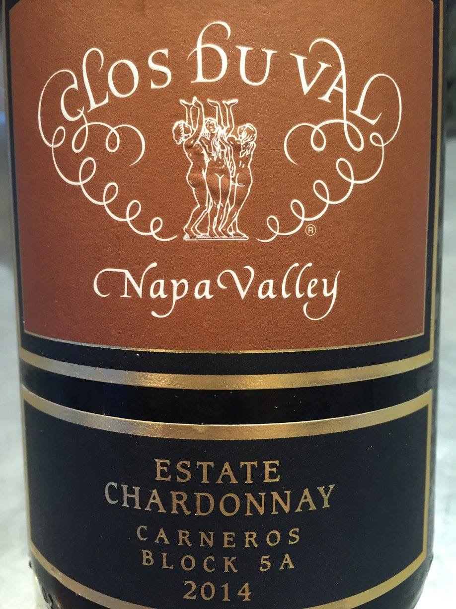 Clos du Val – Chardonnay – Estate Chardonnay 2014 – Block 5A Carneros – Napa Valley