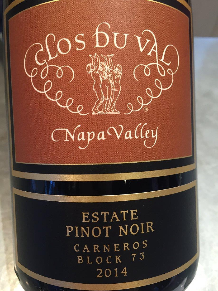 Clos du Val – Estate Pinot Noir 2014 – Block 73 Carneros – Napa Valley