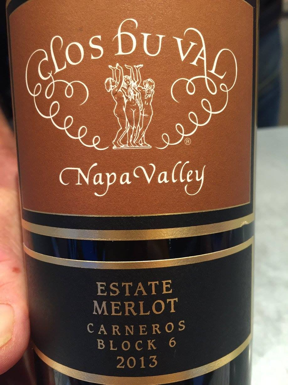 Clos du Val – Merlot 2013 – Block 6 Carneros – Napa Valley