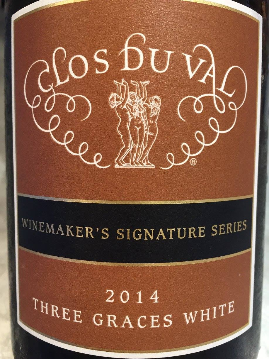 Clos du Val – Three Graces White 2014 – Winemaker's Signature Series – Napa Valley