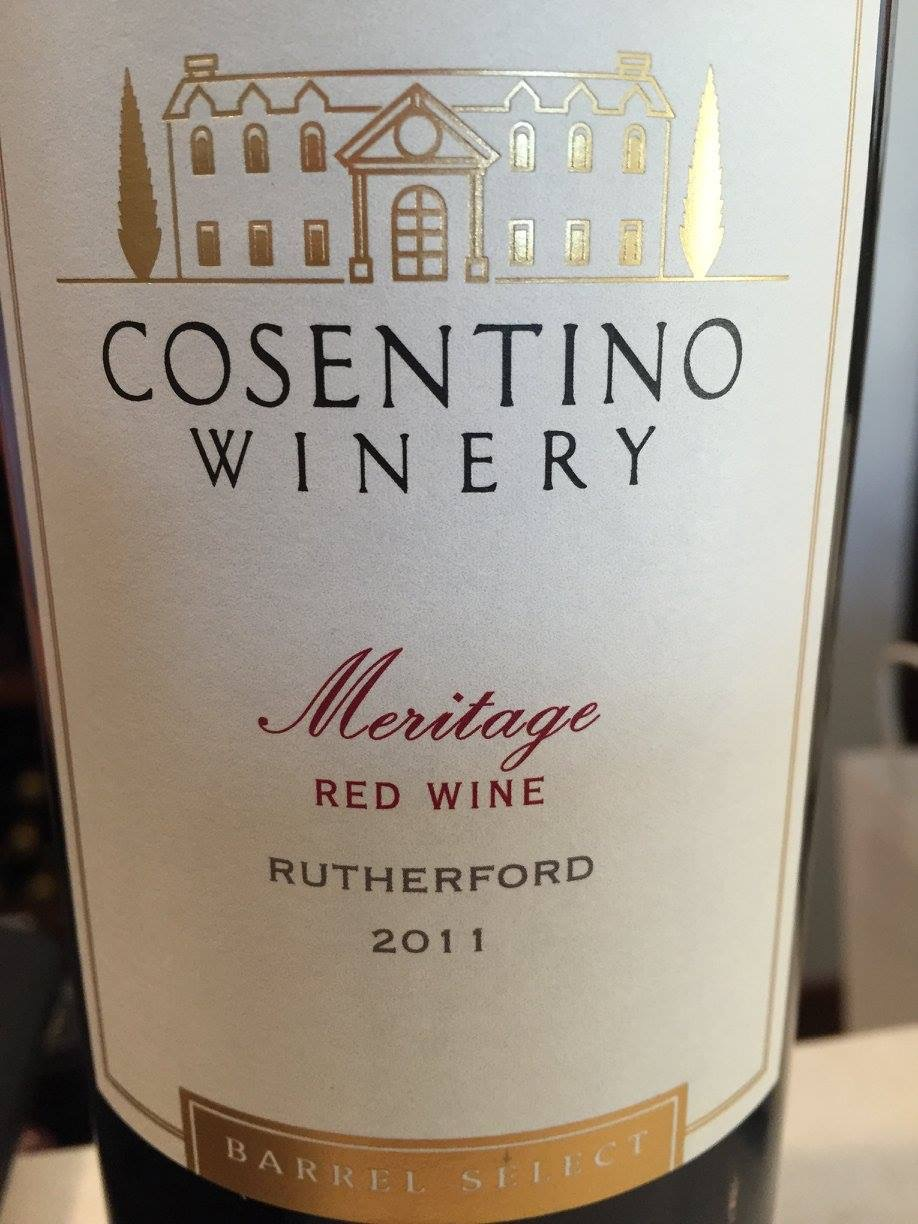 Cosentino – Meritage Rutherford 2011 – Barrel Select – Napa Valley