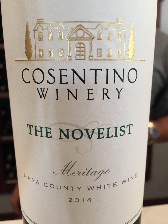 Cosentino – The Novelist – Meritage 2014 – Napa County