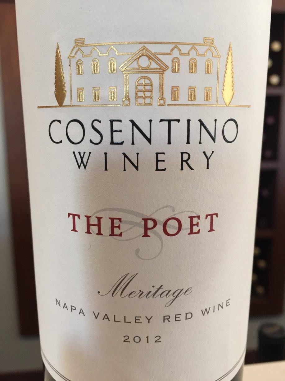 Cosentino – The Poet Meritage 2012 – Napa Valley