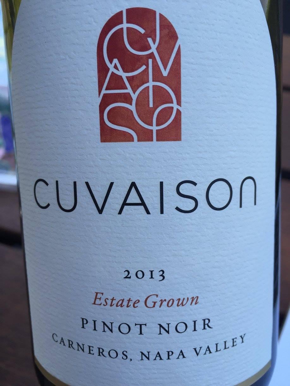 Cuvaison – Pinot Noir 2013 – Estate Grown 2013 – Carneros – Napa Valley