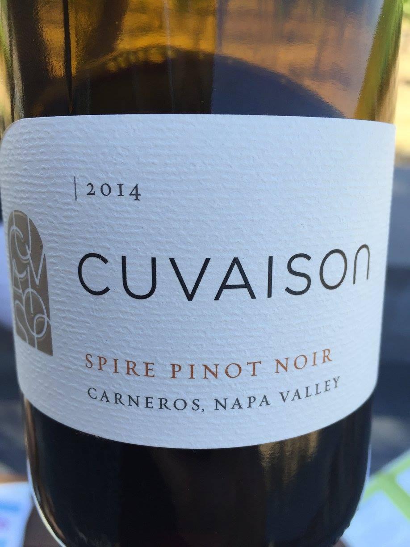 Cuvaison – Spire Pinot Noir 2014 – Carneros – Napa Valley