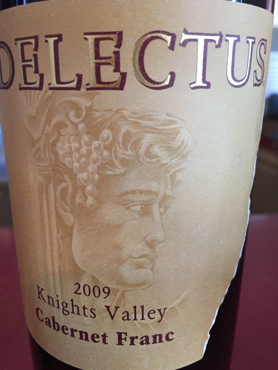 Delectus – Cabernet Franc 2009 – Knights Valley
