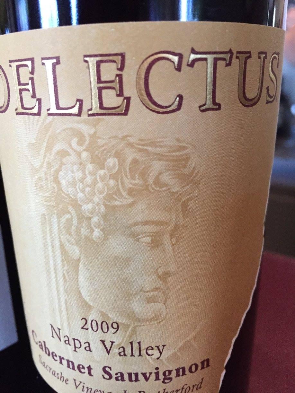 Delectus – Cabernet Sauvignon 2009 – Sacrashe Vineyard – Rutherford, Napa Valley