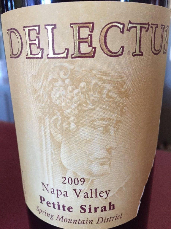 Delectus – Petit Syrah 2009 – Spring Mountain District – Napa Valley