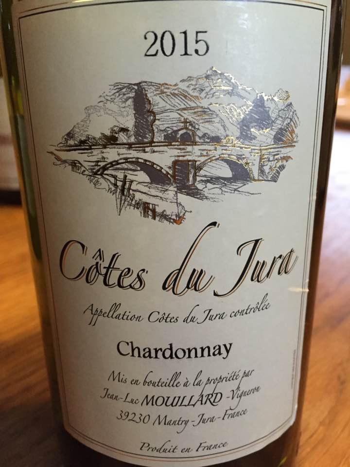 Domaine Mouillard Jean-Luc – Chardonnay 2015 – Côtes du Jura – Jura
