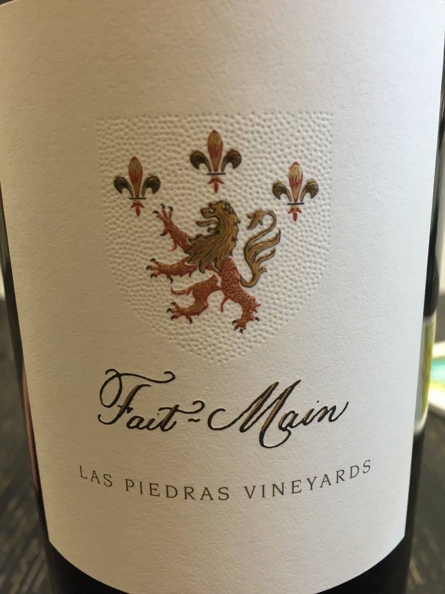 Fait-Main – Las piedras vineyards 2013 – Napa Valley