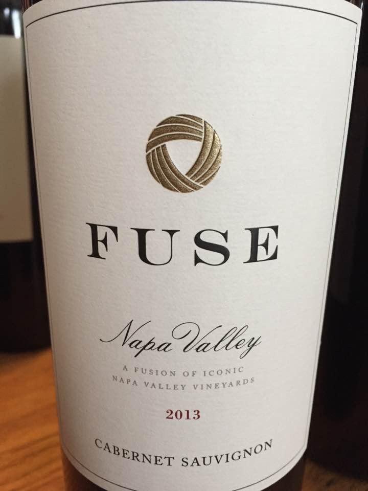 Fuse – Cabernet Sauvignon 2013 – Napa Valley