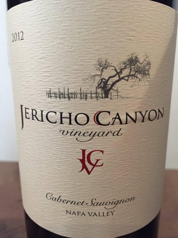 Jericho Canyon Vineyard – Cabernet Sauvignon 2012 – Napa Valley