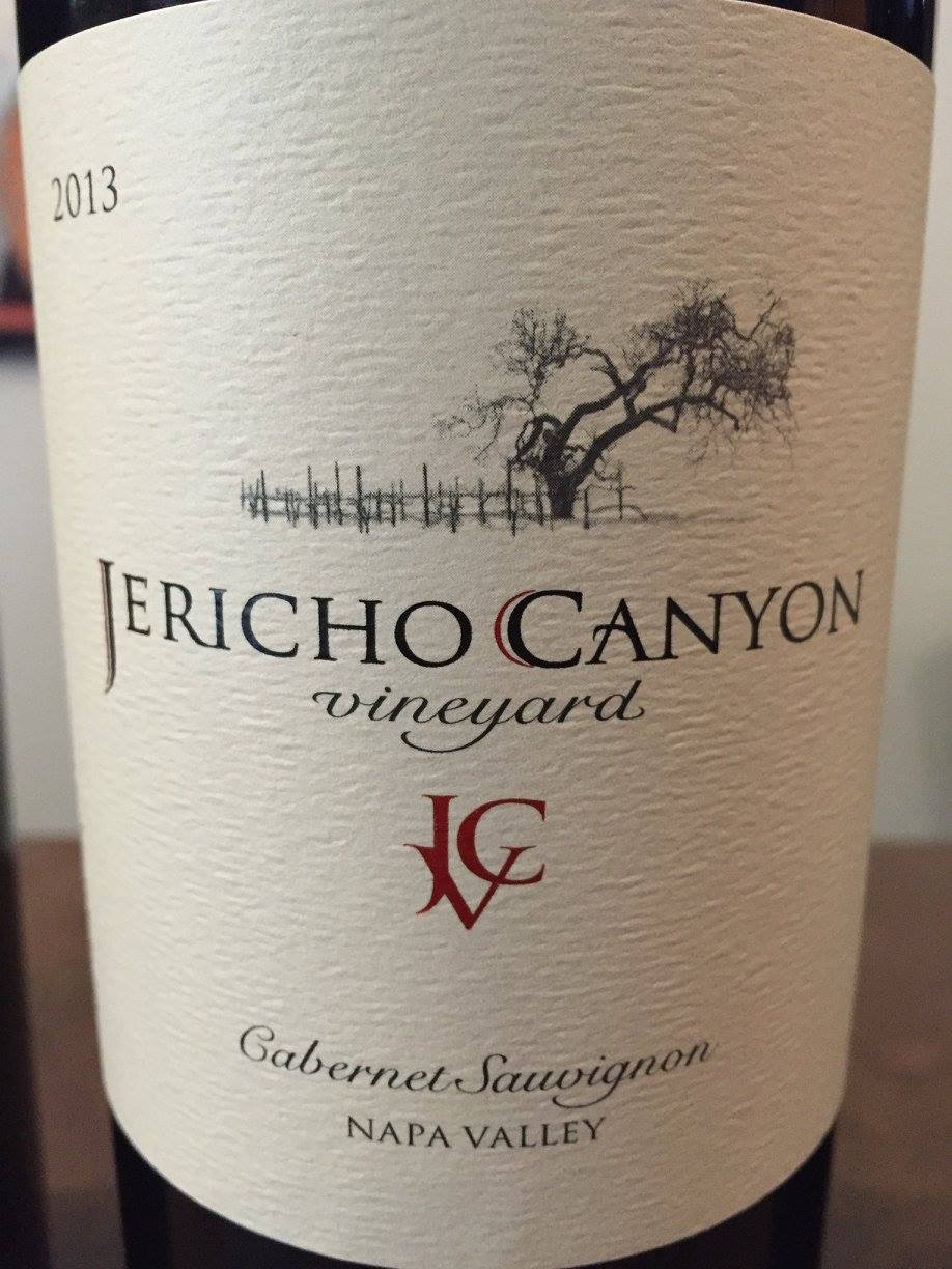 Jericho Canyon Vineyard – Cabernet Sauvignon 2013 – Napa Valley