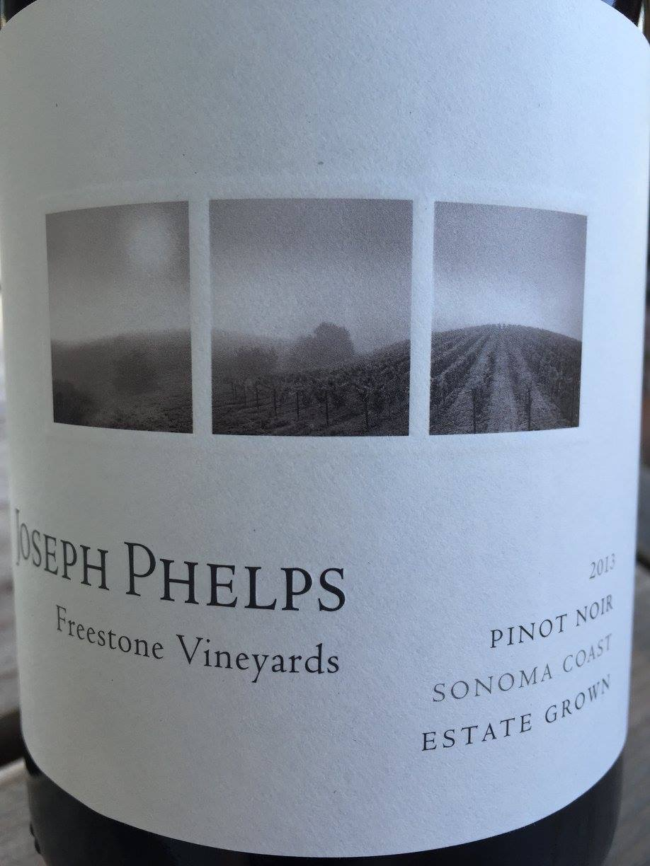 Joseph Phelps – Pinot Noir 2013 Freestone Vineyards – Sonoma Coast