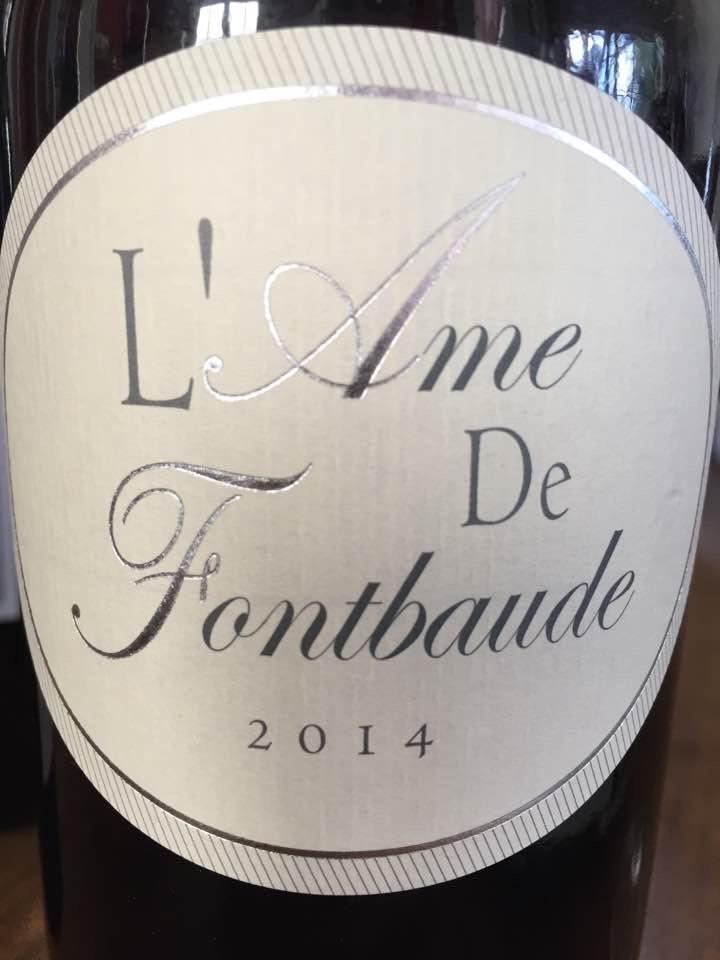L'Âme de Fontbaude 2014 – Castillon Côtes-de-Bordeaux