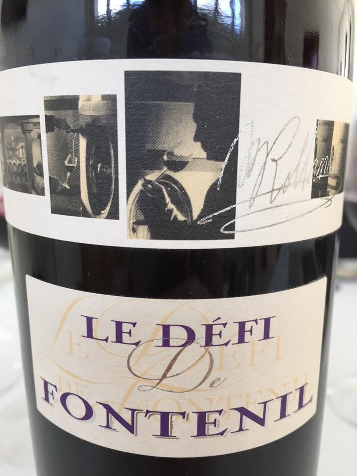 Le Défi de Fontenil 2010 – Vin de France