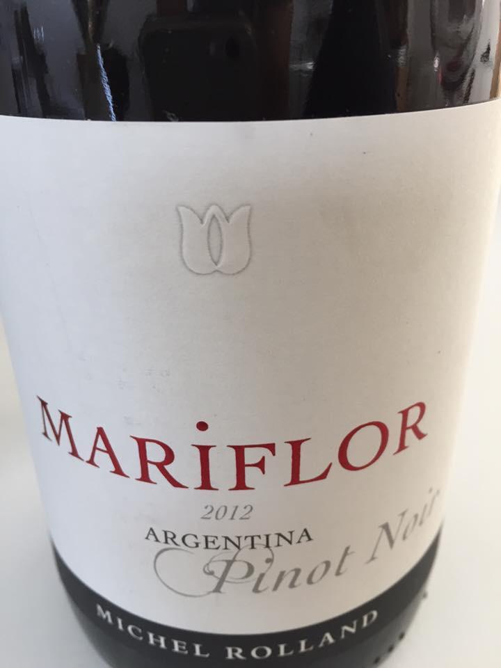 Mariflor Pinot Noir 2012 – Valle de Uco – Mendoza
