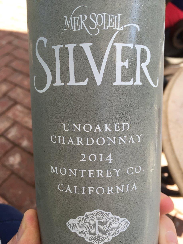 Mer Soleil – Silver – Unoaked Chardonnay 2014 – Monterey