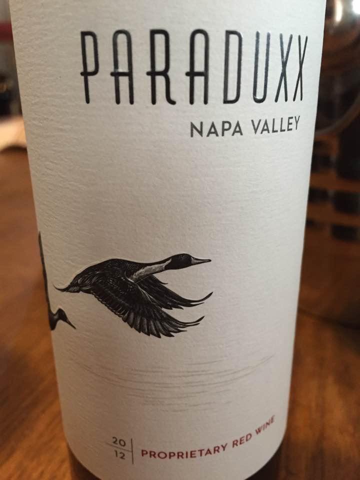 Paraduxx – Proprietary Red Wine 2012 – Napa Valley