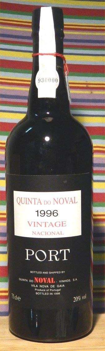 Quinta do Noval – 1996 Vintage Port – Nacional