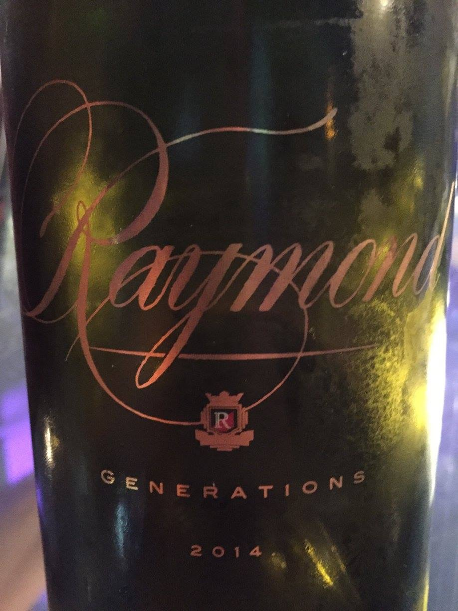 Raymond Vineyard & Cellar – Generations Chardonnay 2014 – Napa Valley