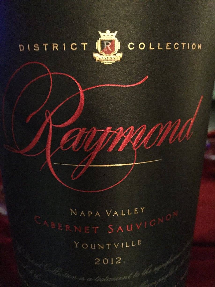Raymond Vineyard & Cellar – Yountville Cabernet Sauvignon 2012 – District collection – Napa Valley