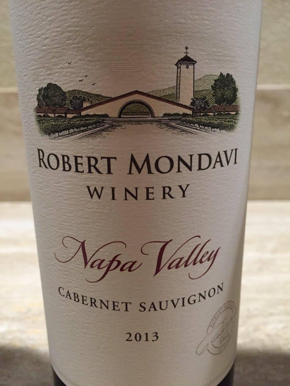 Robert Mondavi – Cabernet Sauvignon 2013 – Napa Valley