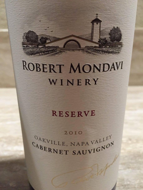 Robert Mondavi – Cabernet Sauvignon Reserve 2010 – Oakville – Napa Valley