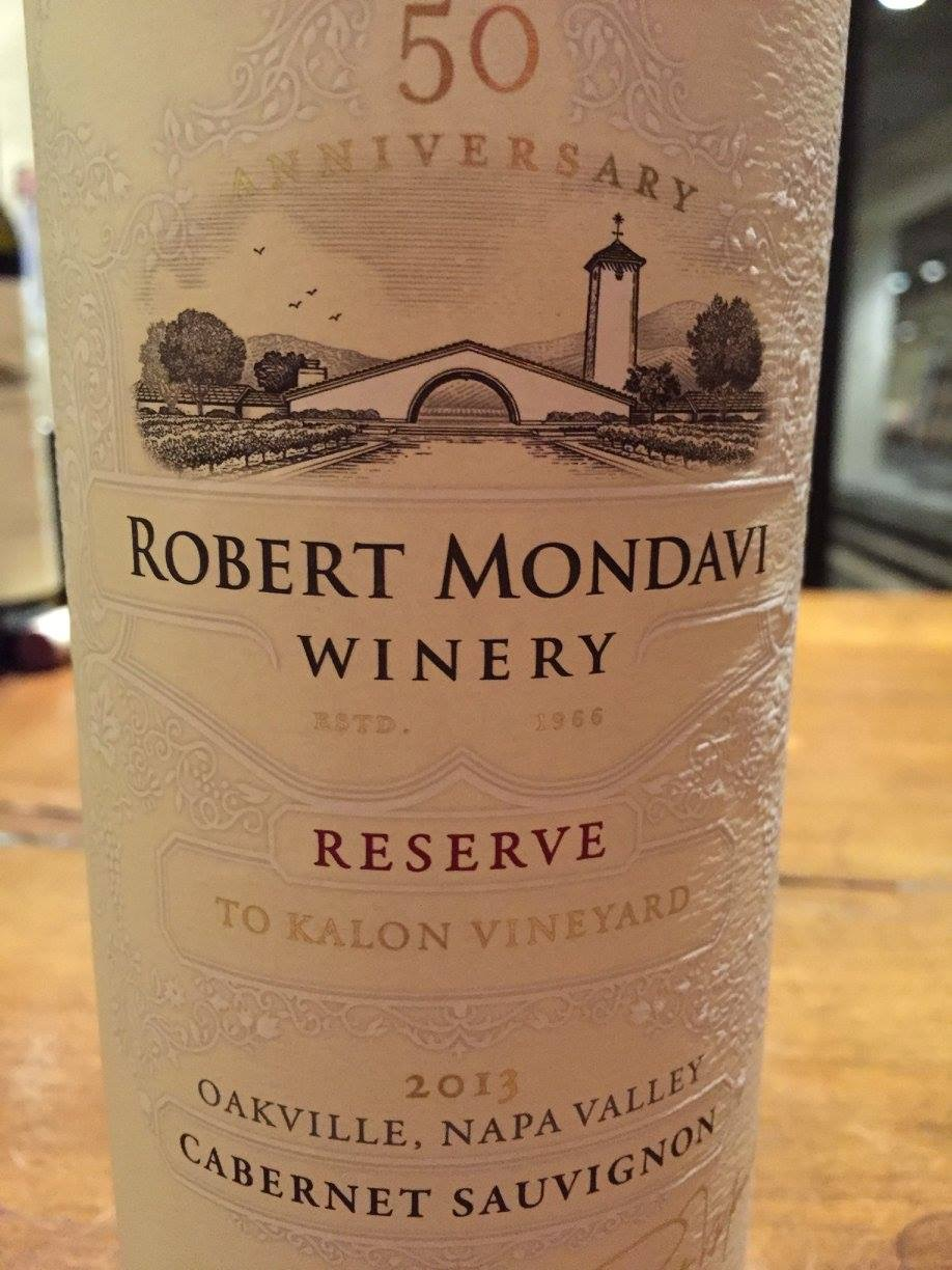 Robert Mondavi – To Kalon Vineyard – Cabernet Sauvignon Reserve 2013 – Oakville – Napa Valley