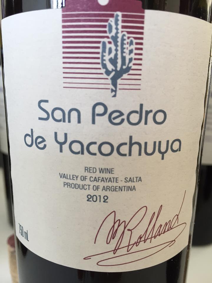 San Pedro de Yacochuya 2012 – Salta, Argentina