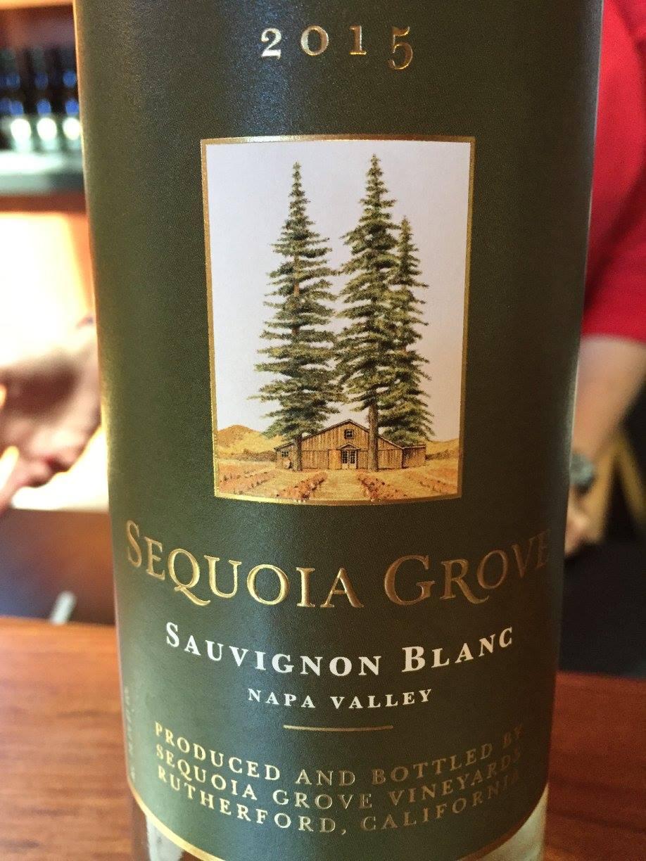 Sequoia Grove – Sauvignon Blanc 2015 – Napa Valley