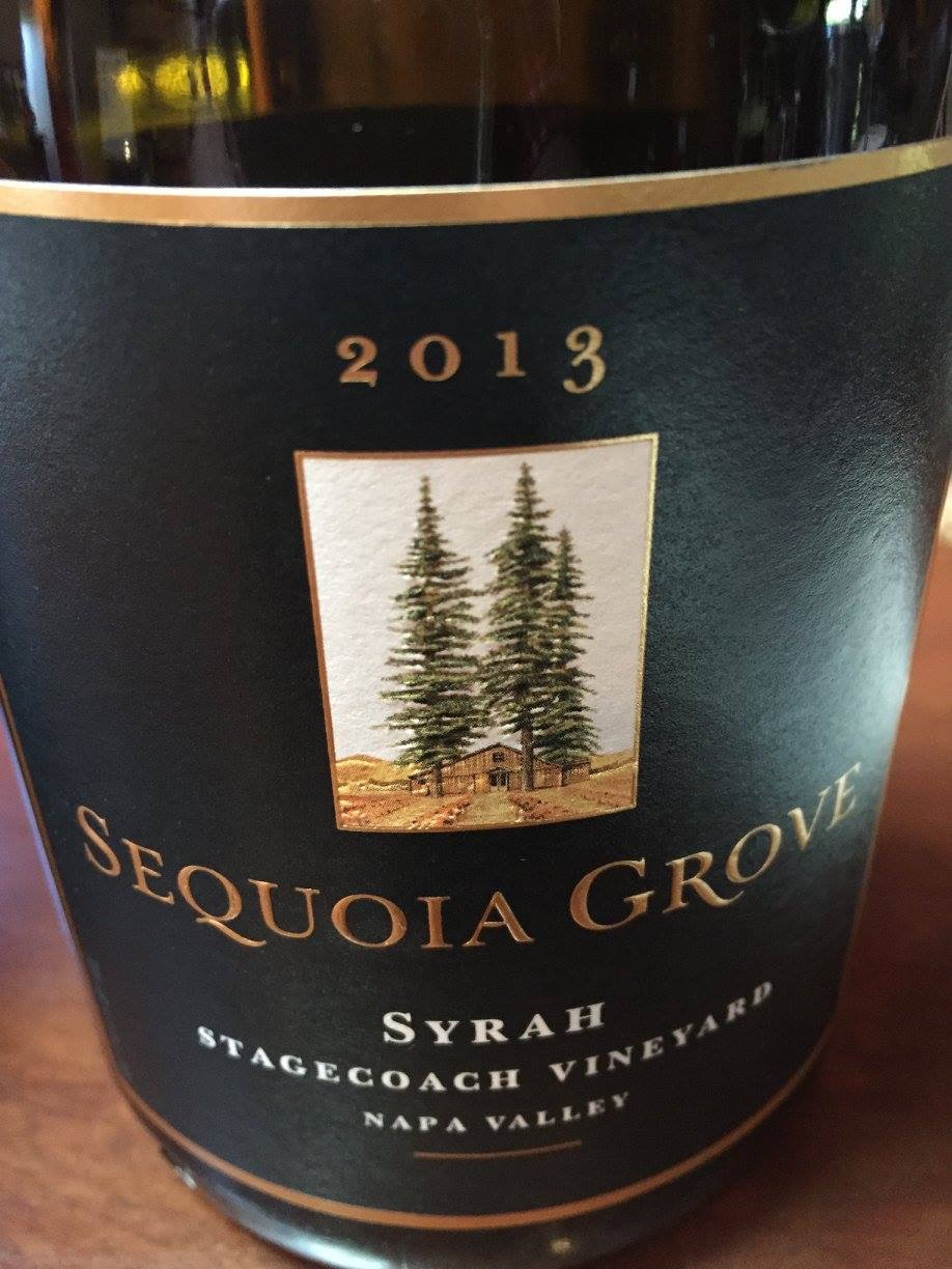 Sequoia Grove – Syrah 2013 – Stagecoach Vineyard – Napa Valley