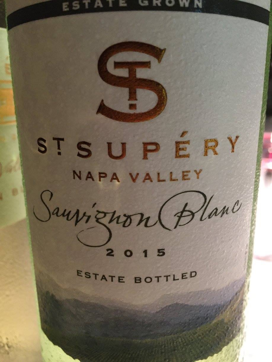 St Supéry – Sauvignon Blanc 2015 – Estate Grown – Napa Valley