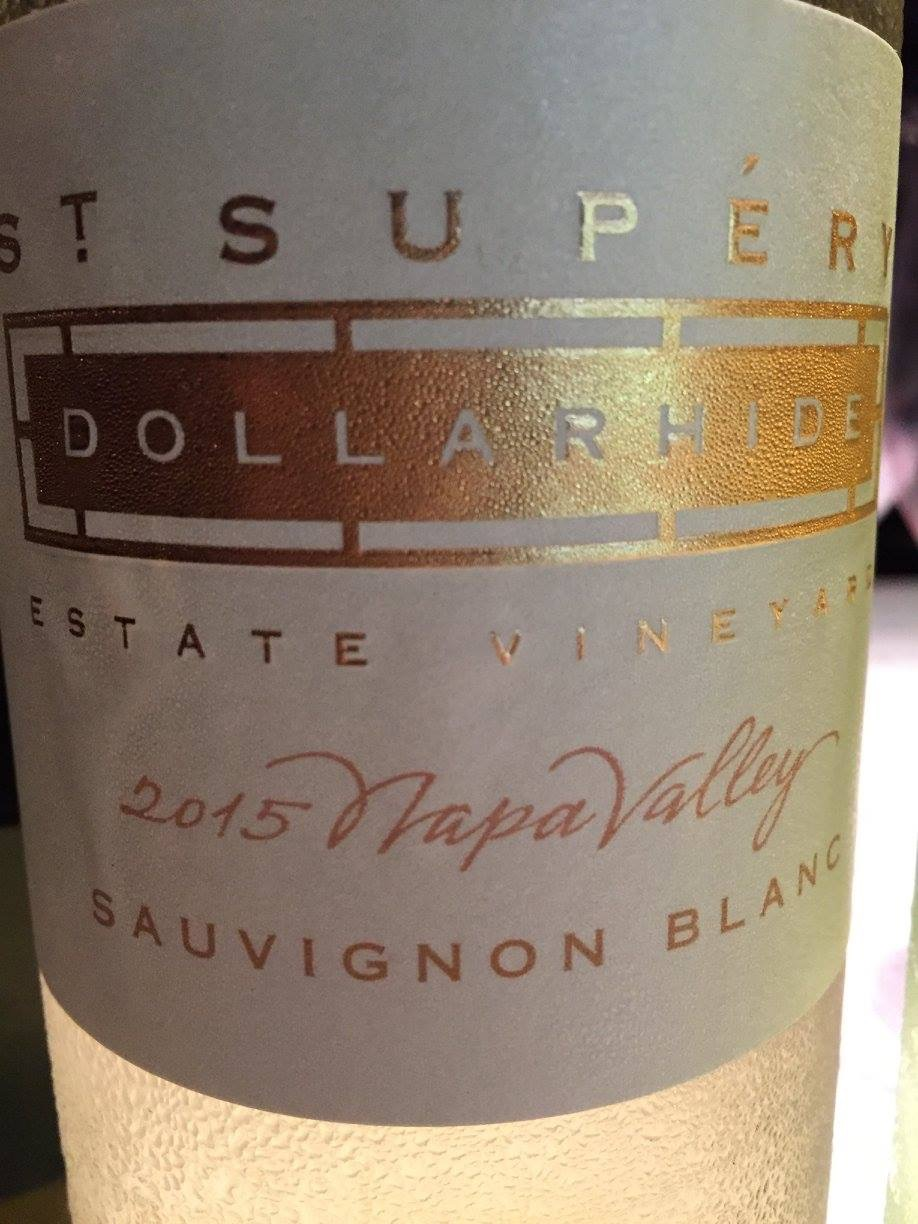 St Supéry – Dollarhide Estate Sauvignon Blanc 2015 – Napa Valley