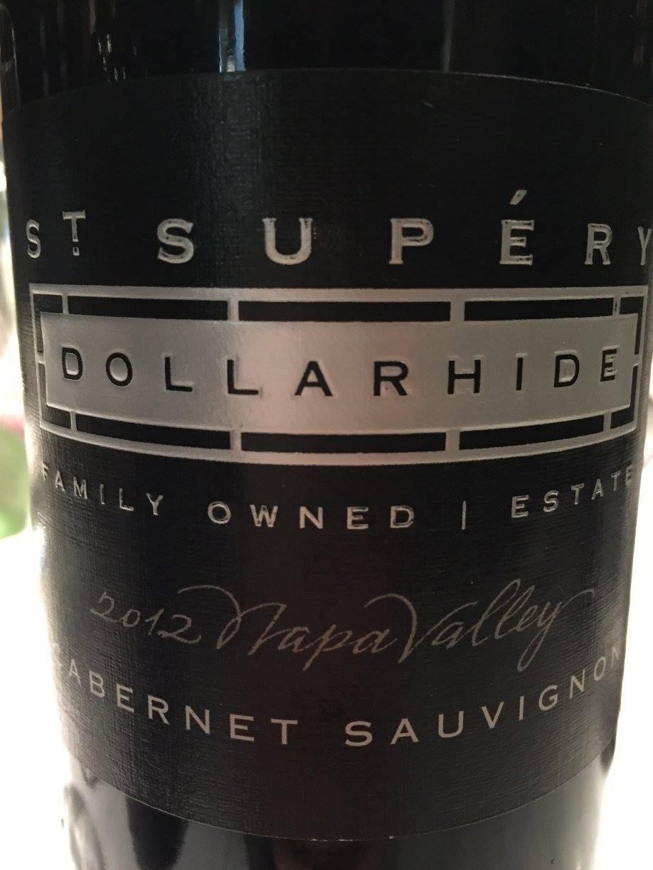 St Supery – Dollarhide Estate vineyard Cabernet Sauvignon 2012 – Napa Valley