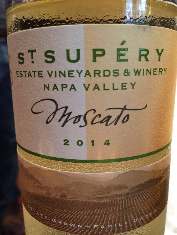 St Supery – Moscato 2014 – Napa Valley