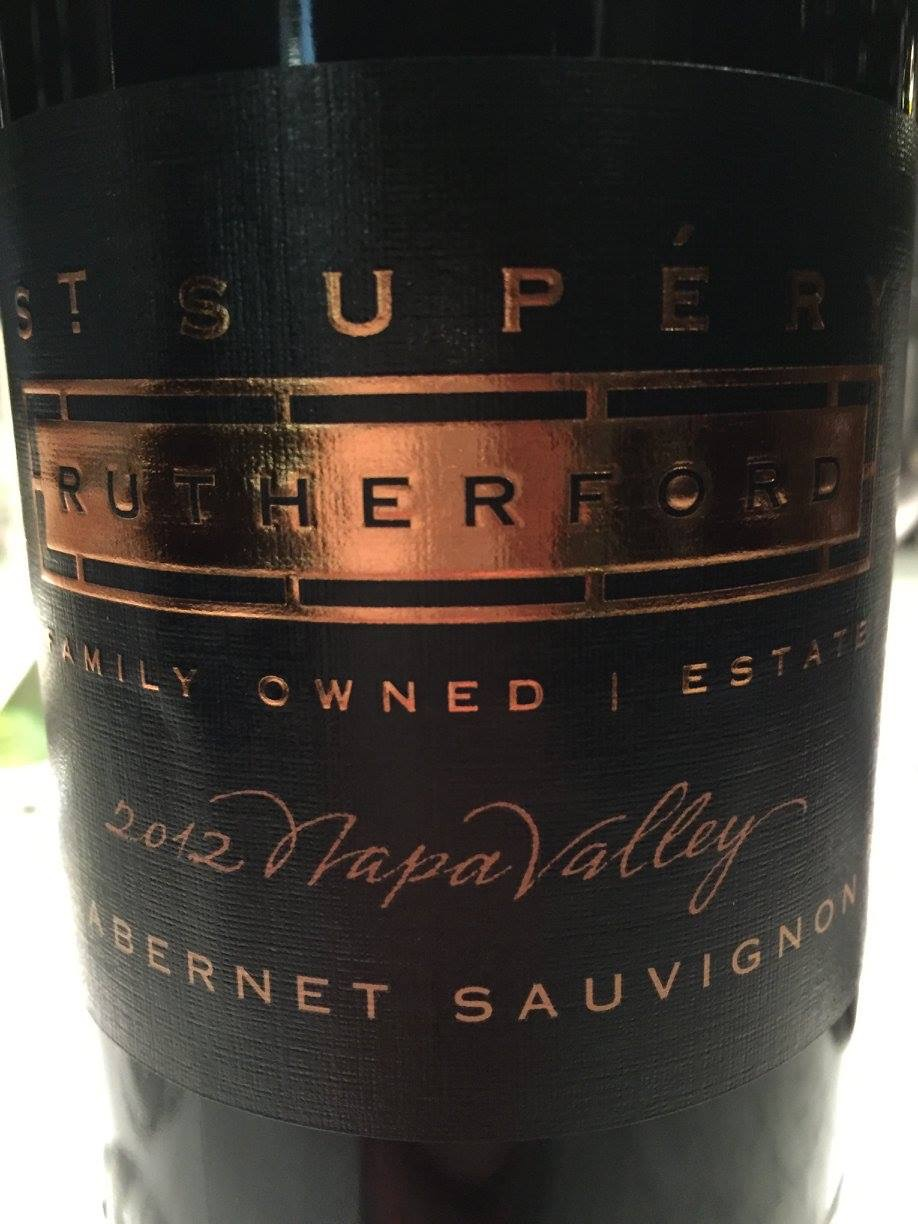 St Supery – Rutherford Cabernet Sauvignon 2012 – Napa Valley