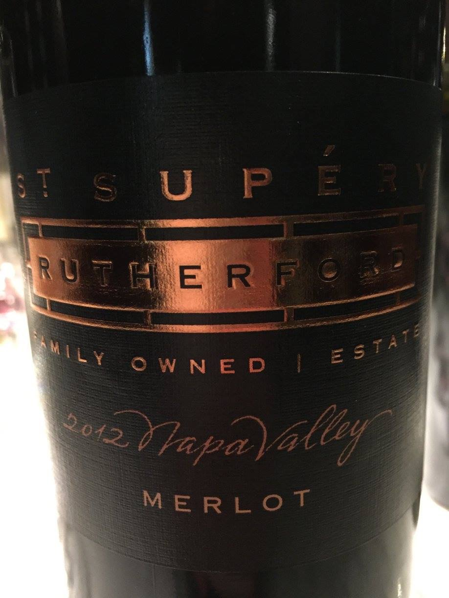 St Supery – Rutherfort Estate Vineyard Merlot 2012 – Napa Valley