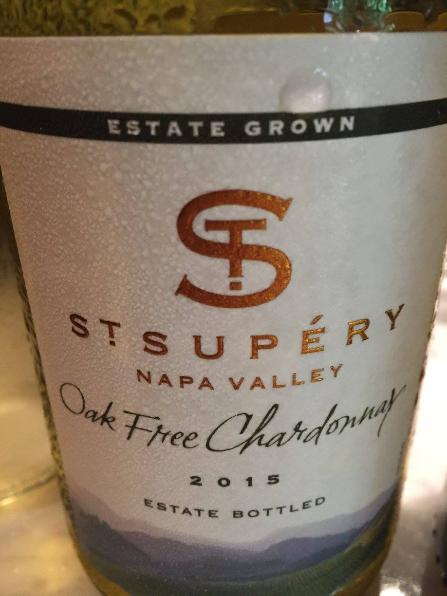 St Supery – Oak Free Chardonnay 2015 – Napa Valley