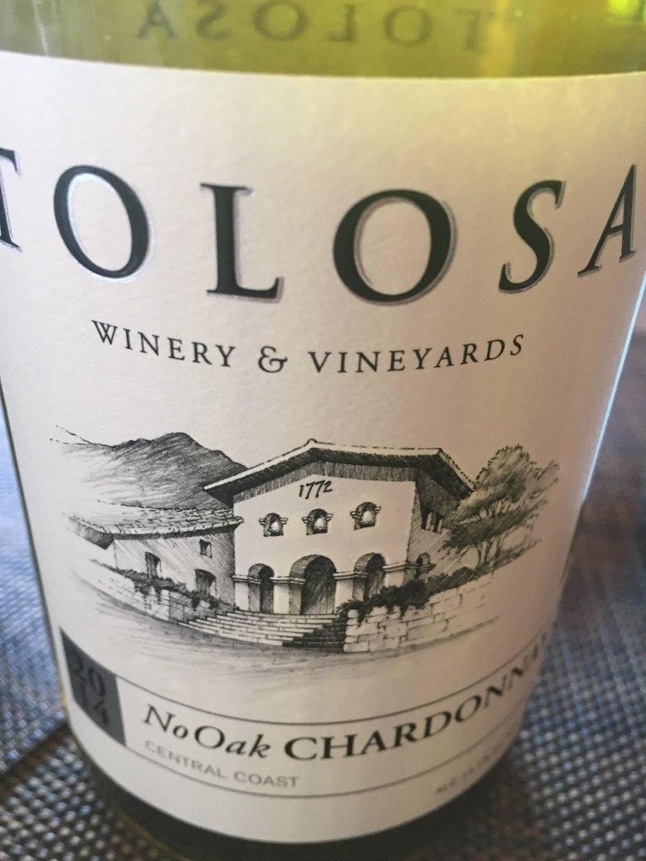 Tolosa – No Oak Chardonnay 2014 – Central Coast
